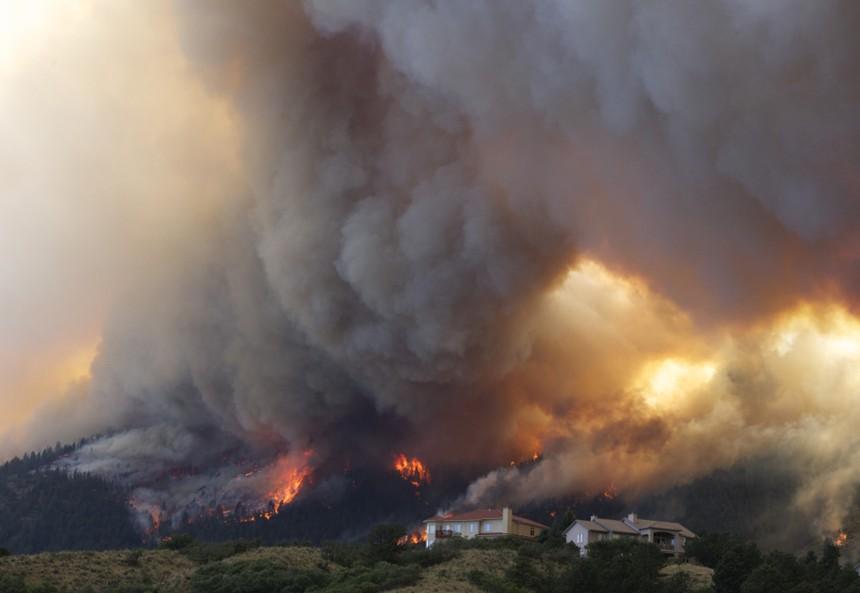 2017年美国森林大火