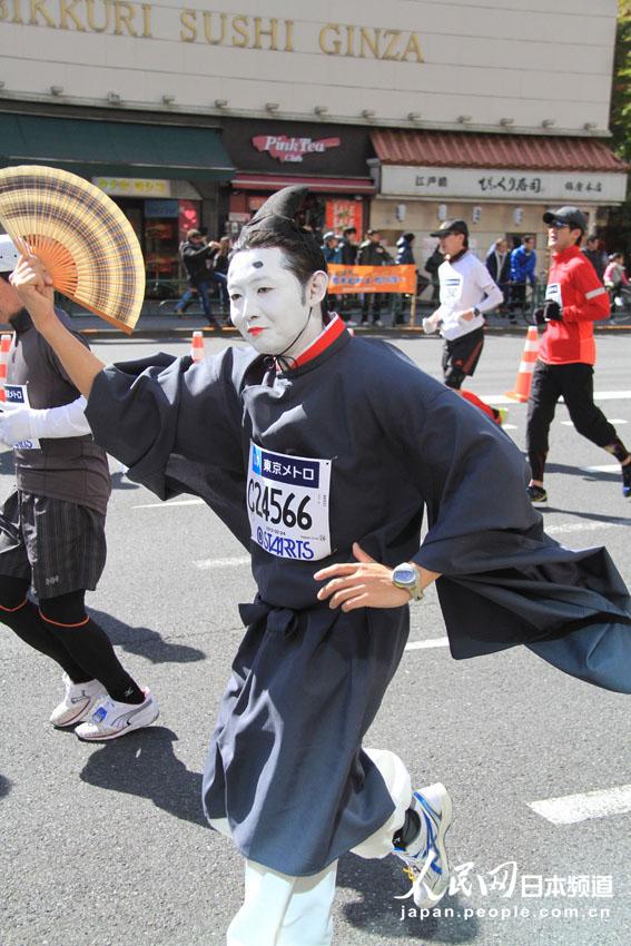 """[提要]  """"2013年东京马拉松大赛""""24日在东京举办,本届东"""