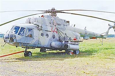 特种部队/米/8运输直升机...
