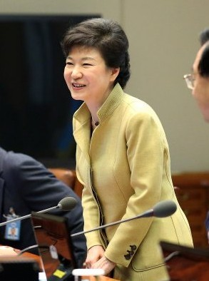 朴槿惠/韩国总统朴槿惠(图片来自韩国媒体)...