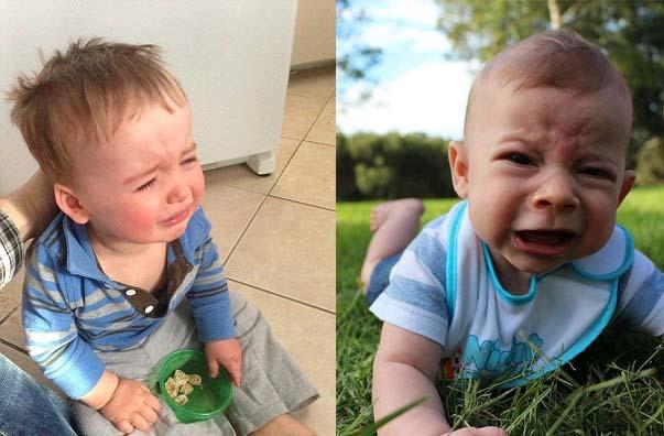 最可爱的哭泣宝宝