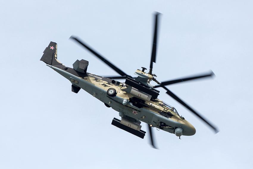 俄海军舰载直升机的经典设计:同轴反转双旋翼