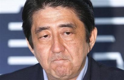 日本首相安倍晋三(资料图片)