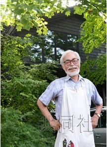 宫崎骏 东京/资料图:宫崎骏(图片来自共同网)...