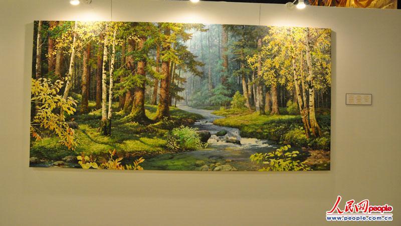 高清:朝鲜美术作品展 150余幅作品栩栩如生【25】图片