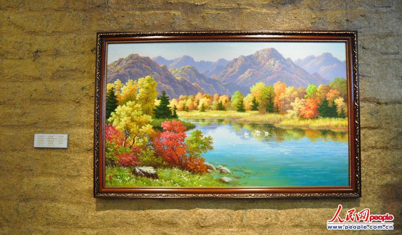 高清:朝鲜美术作品展 150余幅作品栩栩如生【43】图片