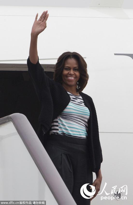 奥巴马夫人访成都_奥巴马夫人米歇尔访华--国际--人民网