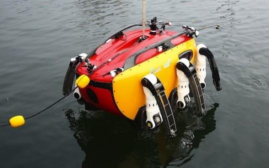 韩国 螃蟹/螃蟹机器人入水