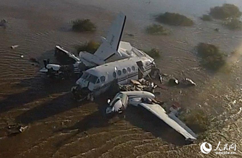 一架小型飞机在乌拉圭西南部坠毁 已致5人死亡