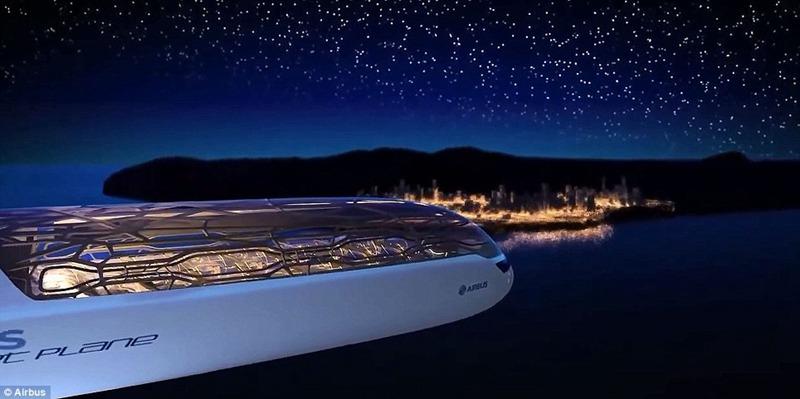 空客发布2050年的民航客机概念