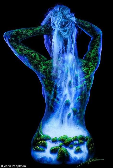 高清:精美绝伦的人体后背艺术摄影【7】