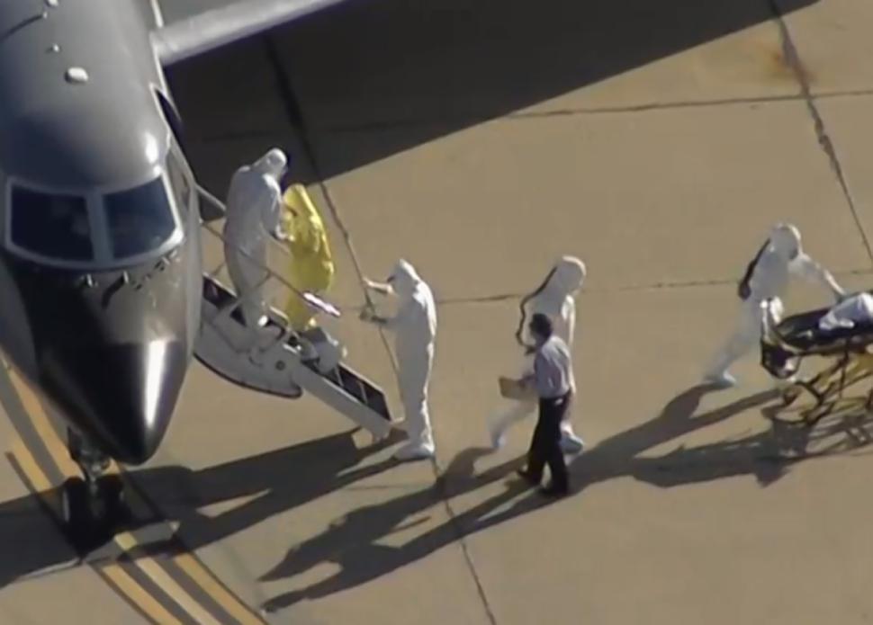 探秘:运送埃博拉患者的飞机里面长啥样?【5】
