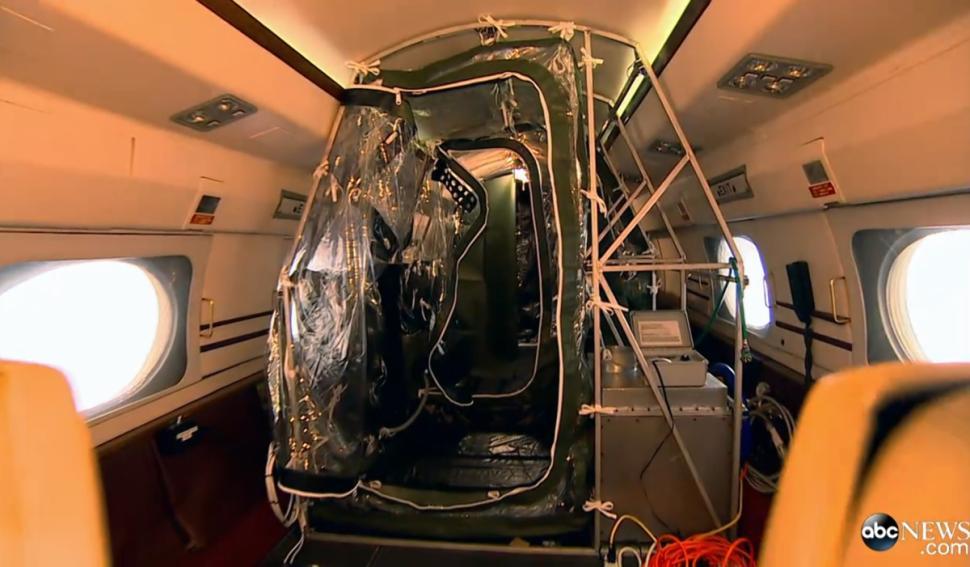 探秘:运送埃博拉患者的飞机里面长啥样?【3】