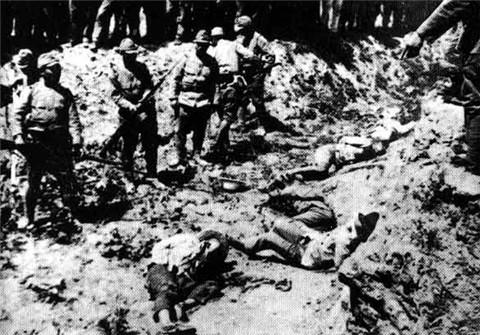 南京大屠杀 人口_日本发现南京大屠杀照片 推翻照片造假说 图