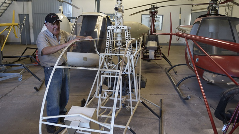 的第一架直升飞机