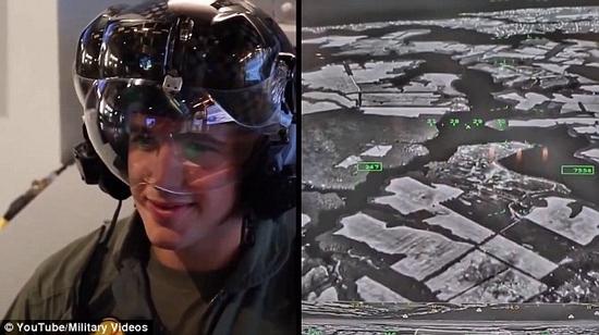 高科技头盔可让F 35飞行员看透飞机