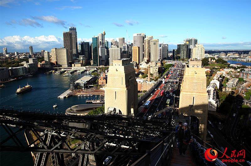 中澳青年领袖齐聚悉尼海港大桥启动 中澳千禧计划