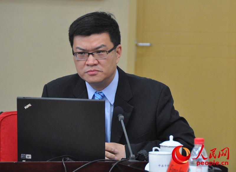 中国现代国际关系研究院美国所所长达巍。(实习生 赵京文摄)
