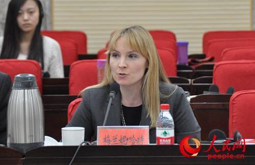 美国进步中心中国政策部主任梅兰妮・哈特