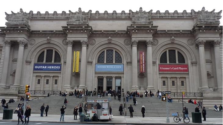 纽约大都会博物馆参观人数创新高