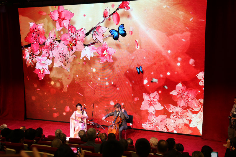 中国二胡和大提琴合奏《梁祝·化蝶》