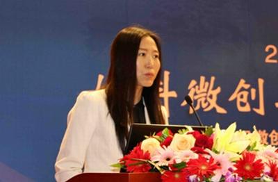 中国孕育工程组委会秘书长董海燕密斯谈话