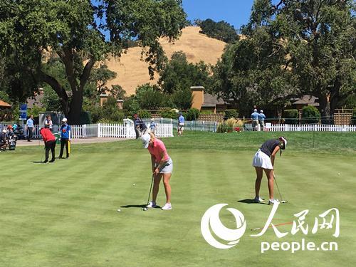 2016美国女子公开赛将于当地时间7月7日至10日在加州马丁市康德威尔高尔夫俱乐部进行,共有来自世界各地156名选手参赛。(邱礼杰摄)