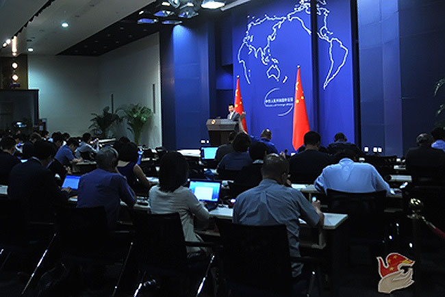 外交部发言人:希望日本遵从国际社会公认的规则