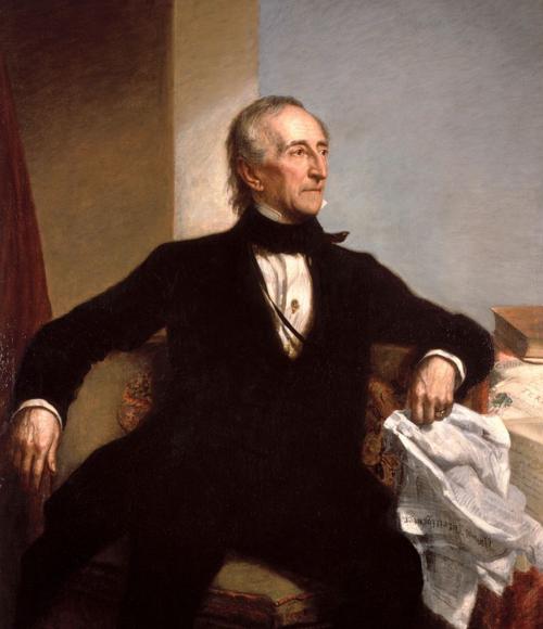 辉格党 由于哈里森总统病逝,泰勒成为首个由副总统接任而来的美国总统