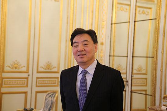 中国驻法国大使翟隽谈中法关系
