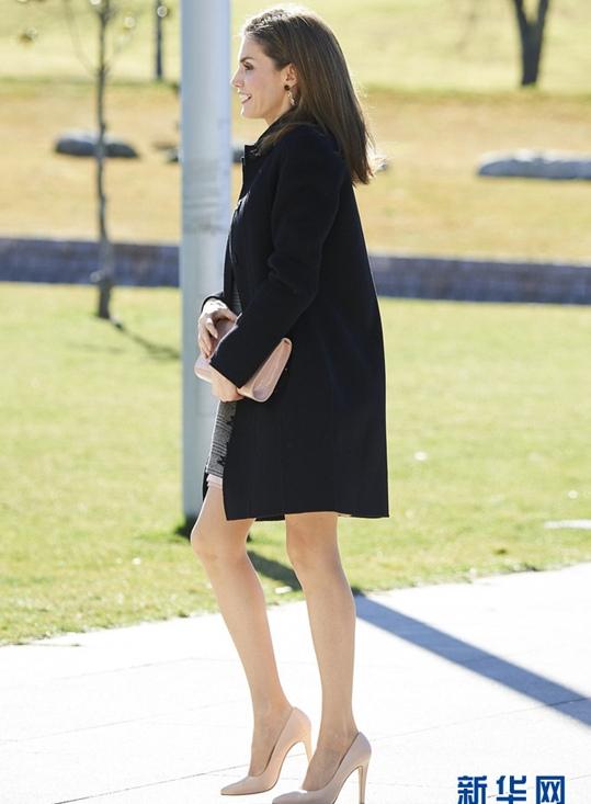 西班牙王妃莱蒂齐亚出席活动 气质优雅迷人(高清组图)【3】