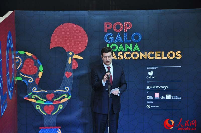 葡萄牙波普大公鸡来华展出 庆祝中国鸡年