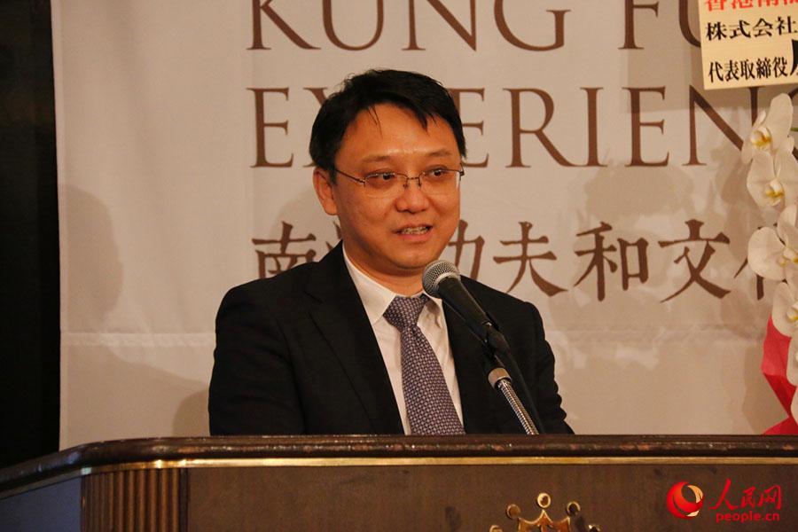 中国国家旅游局驻日本办事处主任罗玉泉在致辞