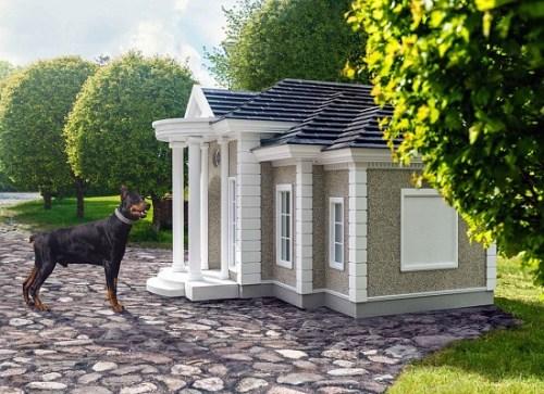 15万英镑的土豪犬舍啥样?暖气空调电视样样全