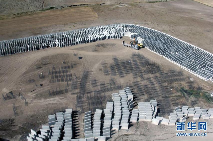 土耳其在与伊朗边境修建隔离墙