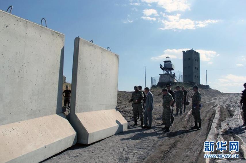 土耳其在与伊朗边境修建隔离墙 【2】
