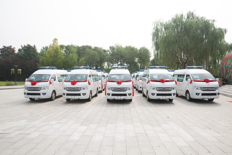 思源芭莎再捐救护车 安徽重庆国贫县每县已至少获捐3辆