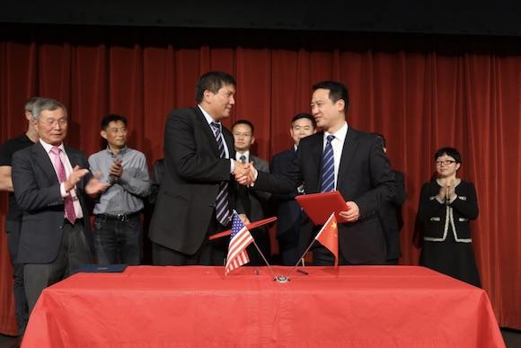 中国惠州与美国库比提诺市结为友好城市