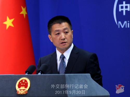 外交部:望南海周边国家维护本地区和平稳定的努力不再受到威胁