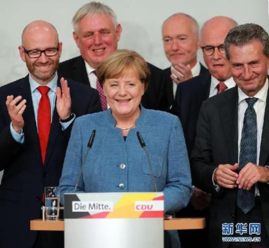 国际观察:默克尔四次连任德国总理将如何影响世界?