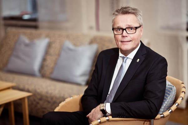 瑞典耶姆特兰省长约兰·海格隆德