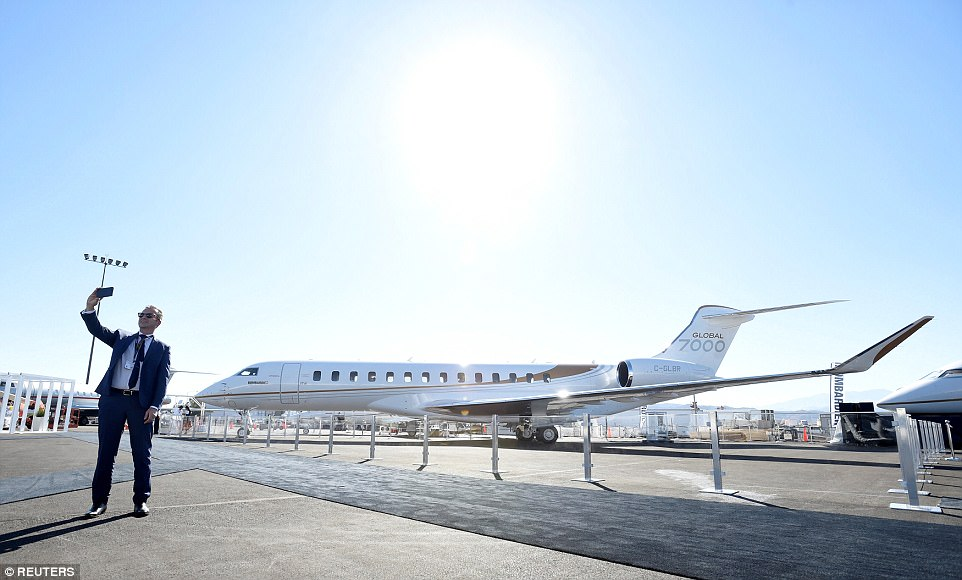 世界上最大的私人飞机:配有四个生活区