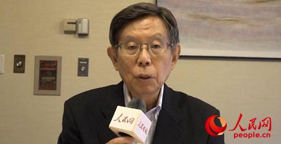 日本前内阁官房副长官、前外务副大臣浅野胜人接受人民网专访。