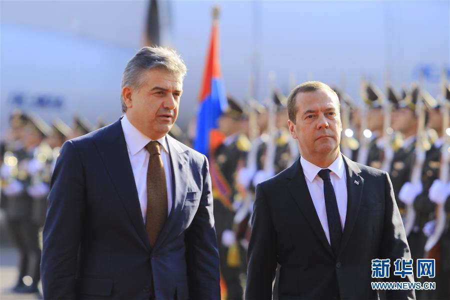 俄罗斯总理说将继续以优惠价格向亚美尼亚供气