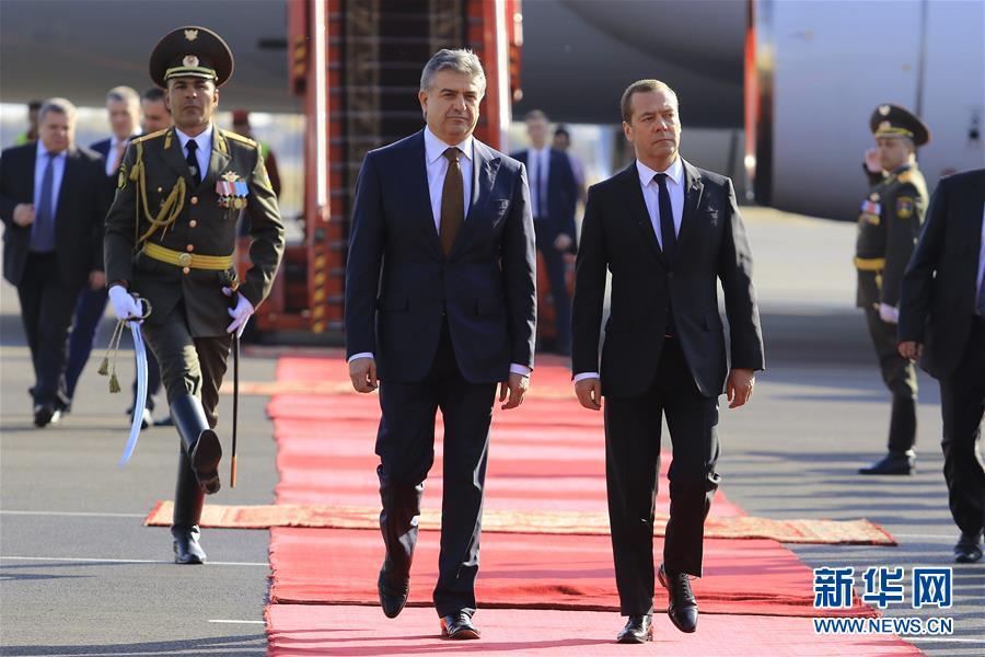 俄罗斯总理说将继续以优惠价格向亚美尼亚供气【2】