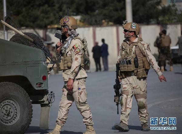 阿富汗媒体证实:首都一电视台遇袭