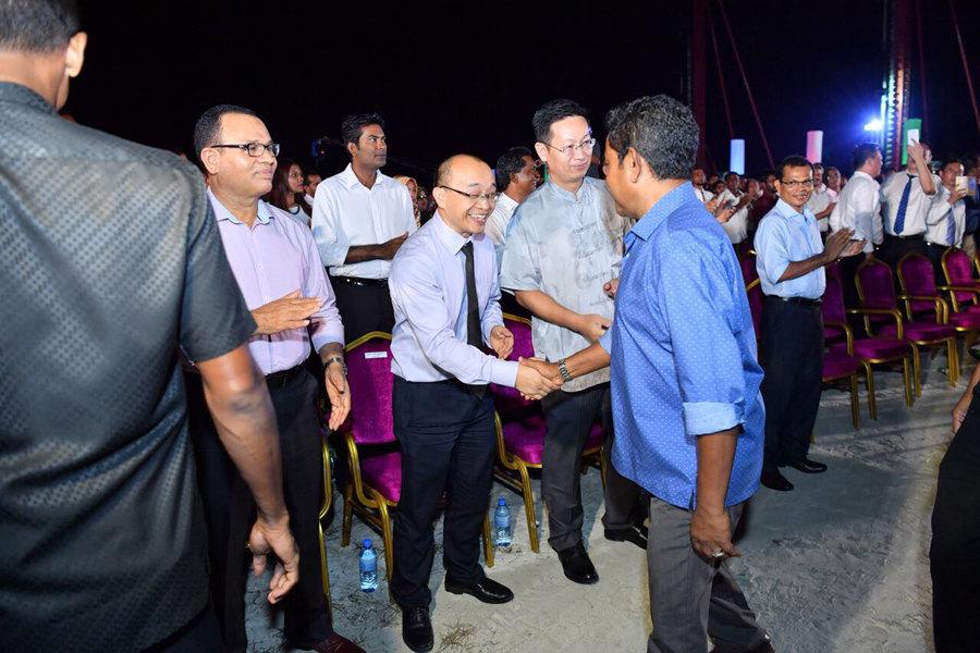 中企承建的马尔代夫最大保证房项目开工