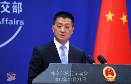图片来源:外交部网站