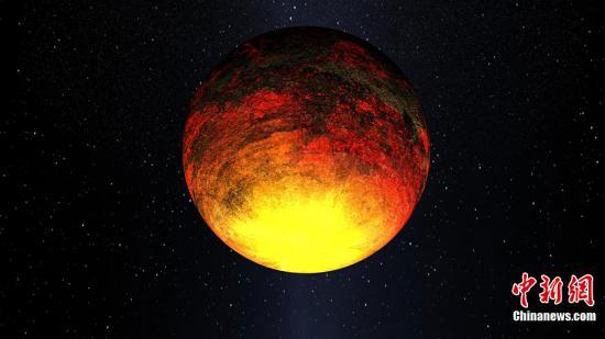 资料图:美国宇航局观测发现太阳系之外的类地行星。