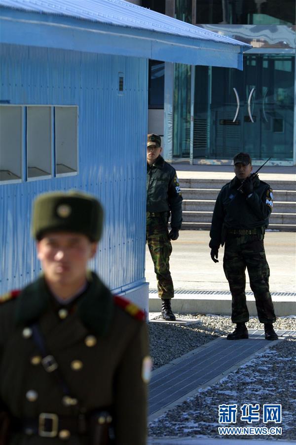3日报道,朝鲜最高领导人金正恩当日已下令重新开通板门店朝韩联图片